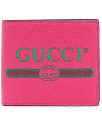 """Gucci - Portafoglio """" 1980's"""" In Pelle - Lyst"""