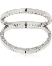 Delfina Delettrez - In Between Knuckle Ring - Lyst