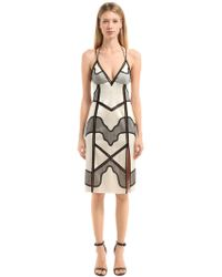 a60ae59c754 Lyst - La Perla Hampton Court Corset Dress in White