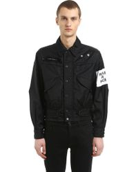 OAMC - Captain Nylon Jacket W/ Patch - Lyst