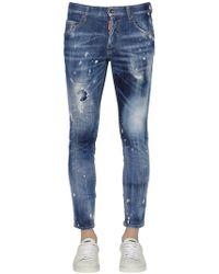DSquared² - Jeans Skinny In Denim Stretch 15cm - Lyst