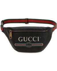 Gucci - Marsupio Piccolo In Pelle Effetto Vintage - Lyst