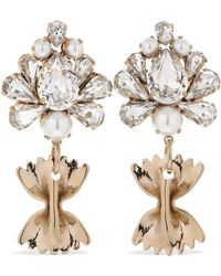 Bijoux De Famille Mamma Mia Pasta Clip-on Earrings