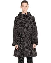 Christopher Kane - Geometric Printed Nylon Coat - Lyst