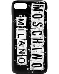 Moschino - Rat-a-porter Iphone Case - Lyst