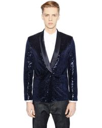 Christian Pellizzari | Sequined Evening Jacket | Lyst
