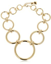 Rosantica - Passato Circles Necklace - Lyst