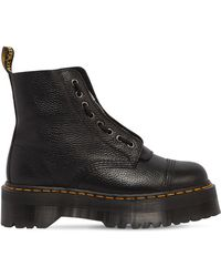 """Dr. Martens - Stivali """"sinclair"""" In Pelle 40mm - Lyst"""