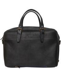 Bleu De Chauffe | Folder Handmade Leather Briefcase | Lyst