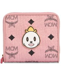 MCM - Small Eddie King Zip Around Wallet - Lyst
