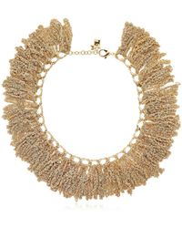 Rosantica - Trama Chain Fringe Necklace - Lyst