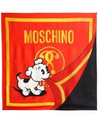 Moschino | Sciarpa In Seta | Lyst
