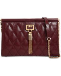 Givenchy - Medium Gem Quilted Leather Clutch - Lyst