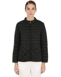 Max Mara - Quilted Nylon Down Jacket - Lyst