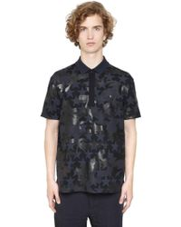Valentino | Camustars Cotton Piquet Polo Shirt | Lyst
