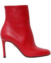 Samuele Failli - 105mm Linda Leather Ankle Boots - Lyst