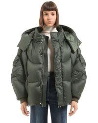 Chen Peng - Oversized Hooded Puffer Down Jacket - Lyst