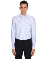 Eton of Sweden - Camicia In Twill Di Cotone Fine Stretch - Lyst