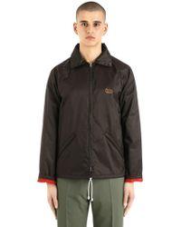 Marni - Hooded Zip-up Nylon Windbreaker Jacket - Lyst