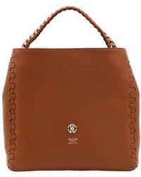 Roberto Cavalli - Regina Leather Shoulder Bag - Lyst
