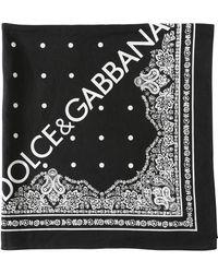 Dolce & Gabbana - Bandana In Cotone - Lyst
