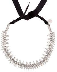 Ellen Conde - Brilliant Jewellery Spike Crystal Necklace - Lyst