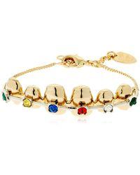 Schield - Brackets Bracelet - Lyst
