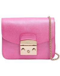 Furla - Mini Metropolis Saffiano Leather Bag - Lyst