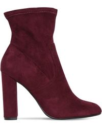 Steve Madden - 100mm Editt Stretch Faux Suede Boots - Lyst