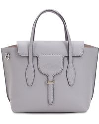 Tod's - Small Leather Top Handle Bag - Lyst