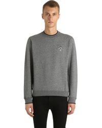 KENZO   Tiger Detail Cotton Sweatshirt   Lyst