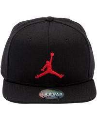 e2a4bfec19f Nike Sb 5 Panel Jordan Print Cap in Black for Men - Lyst