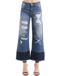 Don't Cry - Destroyed Cotton Denim Jeans - Lyst