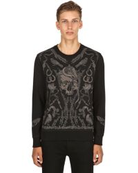 Alexander McQueen - Found Treasure Embroidered Sweatshirt - Lyst
