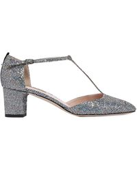 SJP by Sarah Jessica Parker - 50mm Pet Glitter Fabric Court Shoes - Lyst