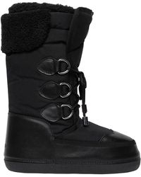 DSquared² - Nylon & Leather Snow Boots - Lyst
