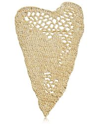 Maison Margiela - Heart Crochet Pin - Lyst