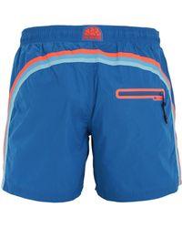 a49441ec83 DSquared² Nylon Parrot Print Shorts Bathing Suit for Men - Lyst