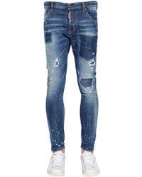 DSquared² - Jeans Sexy Twist De Denim 16cm - Lyst