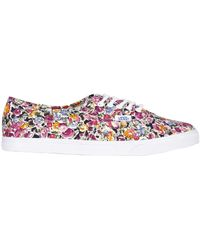 "Vans - Trainers ""authentic Lo Pro"" In Tela Di Cotone 10mm - Lyst"