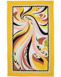 Emilio Pucci - Printed Woven Cotton Beach Towel - Lyst