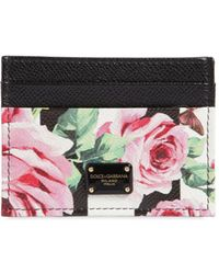 Dolce & Gabbana rose print long card holder Free Shipping Ebay Buy Cheap Fashion Style Cheap New Styles Hyper Online High Quality Sale Online DDviR