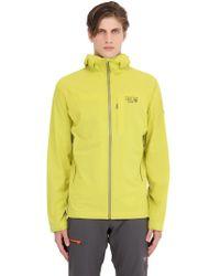 Mountain Hardwear - Stretch Ozonic Hardshell Jacket - Lyst