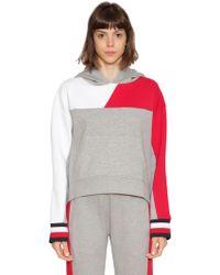 Tommy Hilfiger - Colour Block Hooded Sweatshirt - Lyst