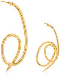 Joanna Laura Constantine - Asymmetrical Knot Earrings - Lyst