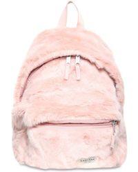 Eastpak - 24l Padded Pak'r Faux Fur Backpack - Lyst