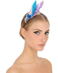 Nanà Firenze - Feather Headband - Lyst