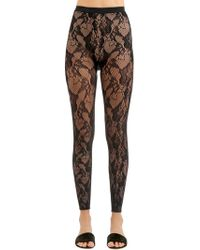 Wolford - Louise Lace Leggings - Lyst