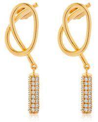 Joanna Laura Constantine - Knot Stud Earrings - Lyst