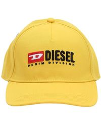 DIESEL - Cappello Baseball In Twill - Lyst